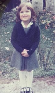 Stacey aged 5